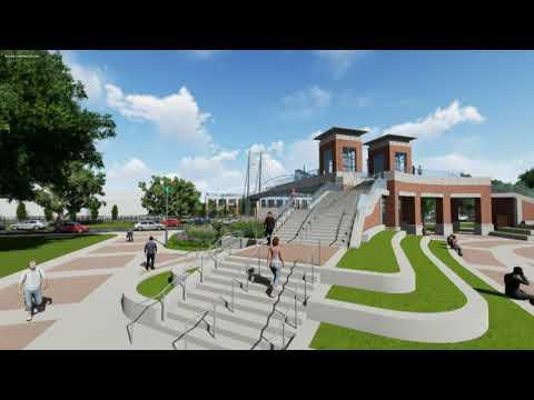 The University of Memphis Land Bridge animation