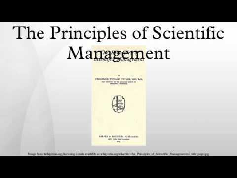 principles and implications of scientific management Frederick winslow taylor published his work, the principles of scientific management in 1911, in it, taylor described the application of the scientific method to the management of workers.