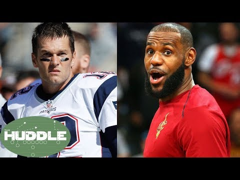 NBA Taking Over NFL as America's #1 Sport!? - The Huddle