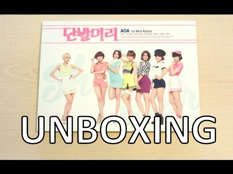Unboxing - AOA (에이오에이) Short Hair