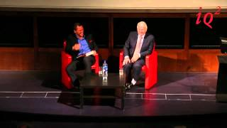 John Major in conversation with Dominic West