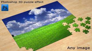 Create 3d Puzzle Effect In Photoshop