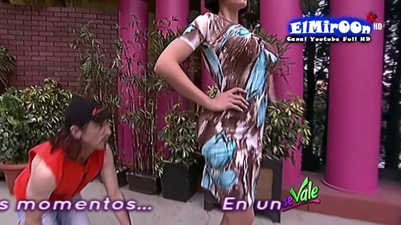 d1373a7844 Tania Riquenes y Amanda Rosas tangas en Se Vale - YouTube