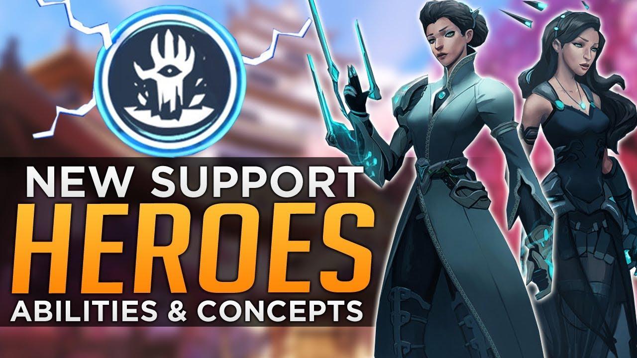 """Download Overwatch: NEW HERO CONCEPT """"Gemini"""" (Support & Defense Heroes)"""