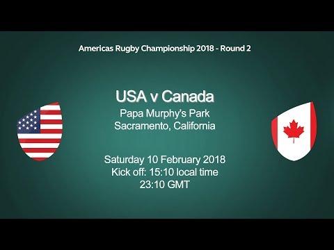 2018 Americas Rugby Championship - USA v Canada