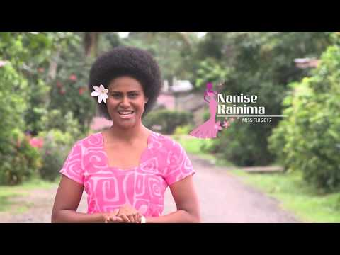 FIJI, Nanise RAINIMA - Contestant Introduction (Miss World 2017)