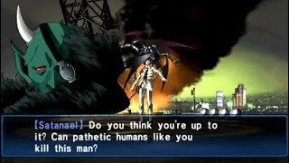 Shin Megami Tensei Devil Summoner Soul Hackers Boss Satanael [HARD]