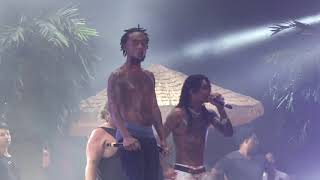 Download Rae Sremmurd Sway Lee gets hit in the face with phone thrown from crowd Dallas Mp3 and Videos