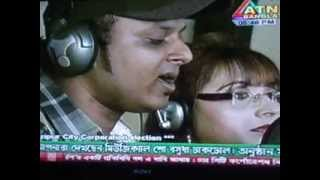 NASIMA BABY SONG INTERVIEW IN ATN BANGLA SHOW(DHAK DHOL)