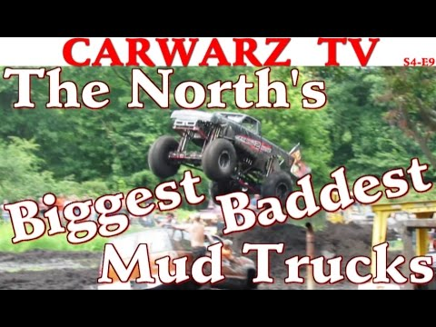 CarWarz TV - S4E9 - Special - The Norths Biggest And Baddest Mud Trucks