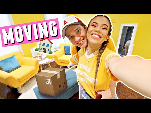MOVING FURNITURE INTO THE NEW HOUSE!🏠📦 Moving vlogs