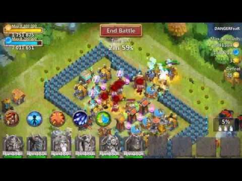 Castle Clash: 204K Might Quest Board