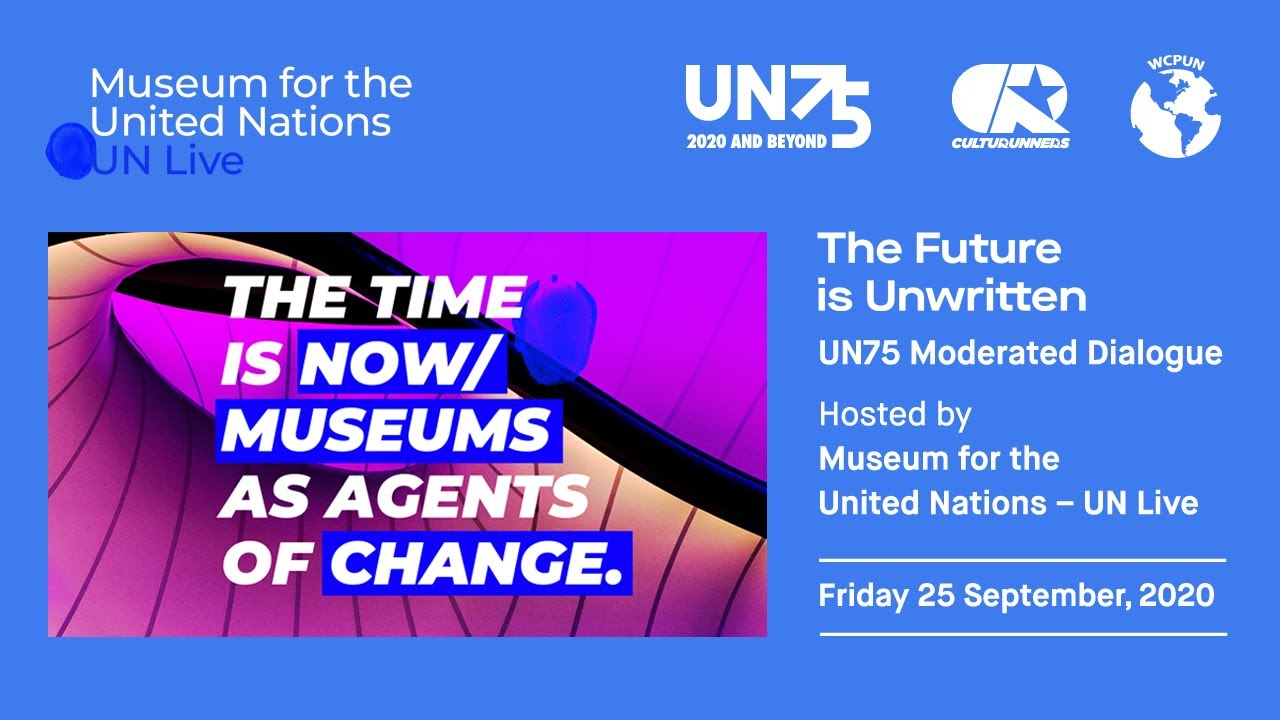 THE TIME IS NOW - Museums as Agents of Change - A