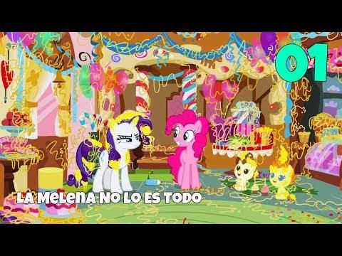 """My Little Pony:Temporada 7 Capitulo 19 """"La melena no lo es todo"""" [Español Latino] PARTE (1/4)"""