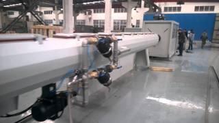 Линия для производства ПНД труб диаметром 50-250мм(Линия для производства ПНД труб диаметром 50-250мм от компании Zhangjiagang City Grace Machinery Co., Ltd . Для получения более..., 2015-11-09T15:04:14.000Z)