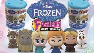 Disney Frozen Fashems - Two Pack Opening - Mashems Unboxing
