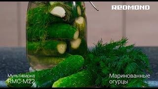 """Рецепт """"Маринованные огурцы"""" в мультиварке REDMOND RMC-M22"""