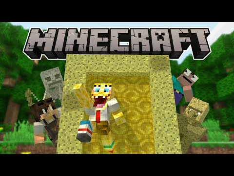 Thumbnail: If A Sponge Dimension Was Added - Minecraft Animation