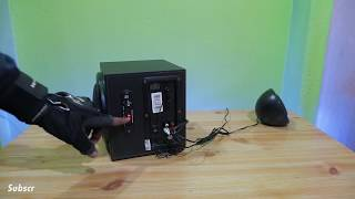 Intex IT 2202 Suf Home Theatre Unboxing amp Sound Test by AKS