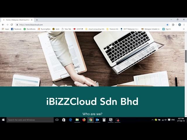 1.0 -- How to Login iBiZZtax Cloud Tax Software