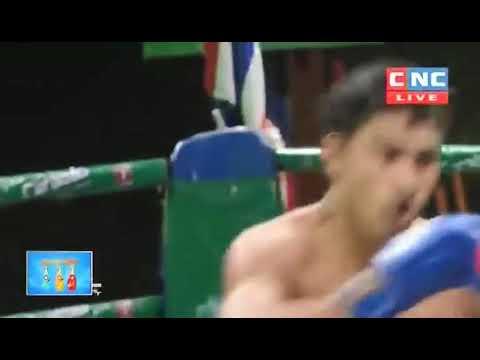 Thoeun Theara vs Faipa (Thai) CNC Khmer Boxing 13/10/2018