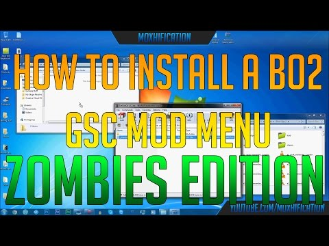 BO2 How to install mod menus GSC | multiplayer + zombies | FunnyCat.TV