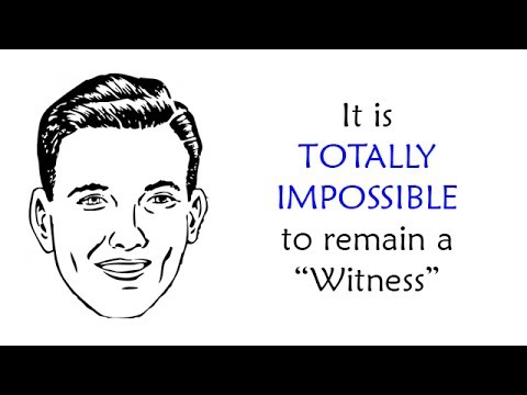 """193 - The One Man Who CANNOT Remain a """"JW"""""""