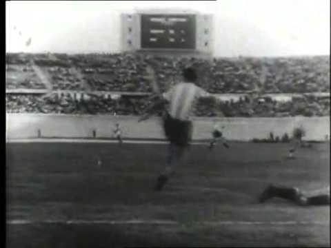 SUDAMERICANO 1941 (Santiago de Chile):  ARGENTINA vs PERU 2 a 1