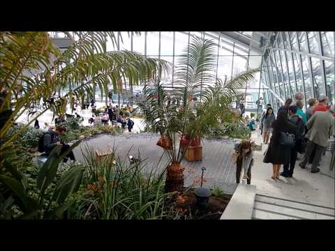 Tour of  the Sky Garden at Walkie Talkie (20 Fenchurch Street), London May 2015