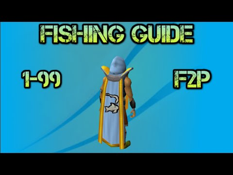 [F2P] OSRS: 1-99 Fishing Guide F2p Old School RuneScape (2007) [HD]