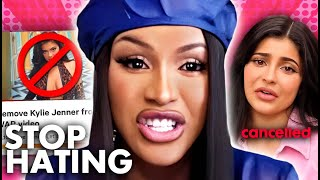 Cardi B SPEAKS OUT About Kylie Getting CANCELLED From WAP