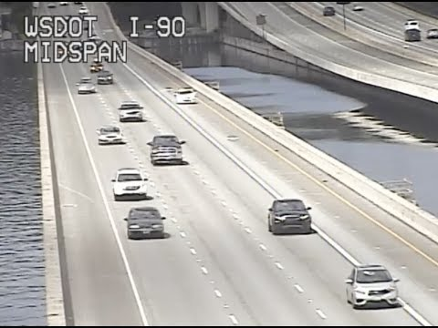 I-90 HOV lanes open to traffic; express lanes closed permanently