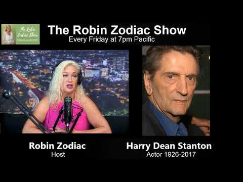 Psychic Robin Zodiac Does A Memorial Radio Show Dedicated Harry Dean Stanton
