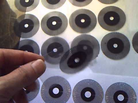 DIY Servomotor project  1-Optical encoder (Toner transfer o Transparencies)