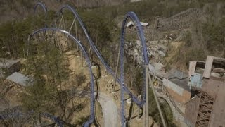 Wild Eagle Left Front Seat on-ride HD POV Dollywood
