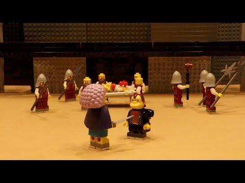 Richard III – complete play using Lego