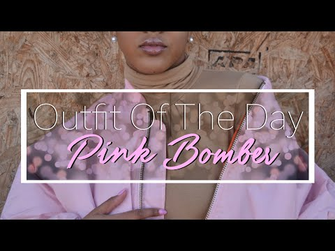 STYLING A PINK BOMBER // 2016 STREET STYLE // ADIDAS SUPERSTARS // OUTFIT OF THE DAY