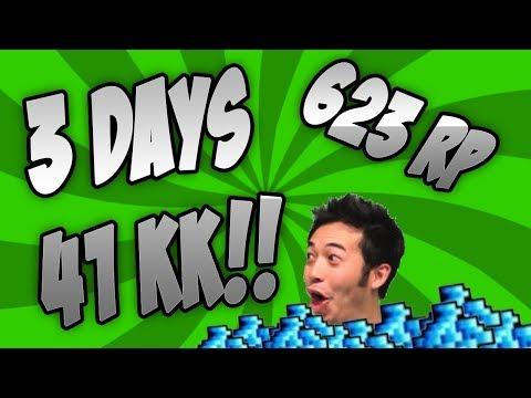 3 DAYS 41KK DOUBLE LOOT WEEKEND! INSANE! [Tibia][623RP]