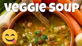 How To Make An Easy Vegetable Soup - The Frugal Chef