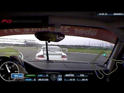 STT 1. Onboard: Porsche 997 GT3 Cup Hockenheim PG Motorsport Race 1