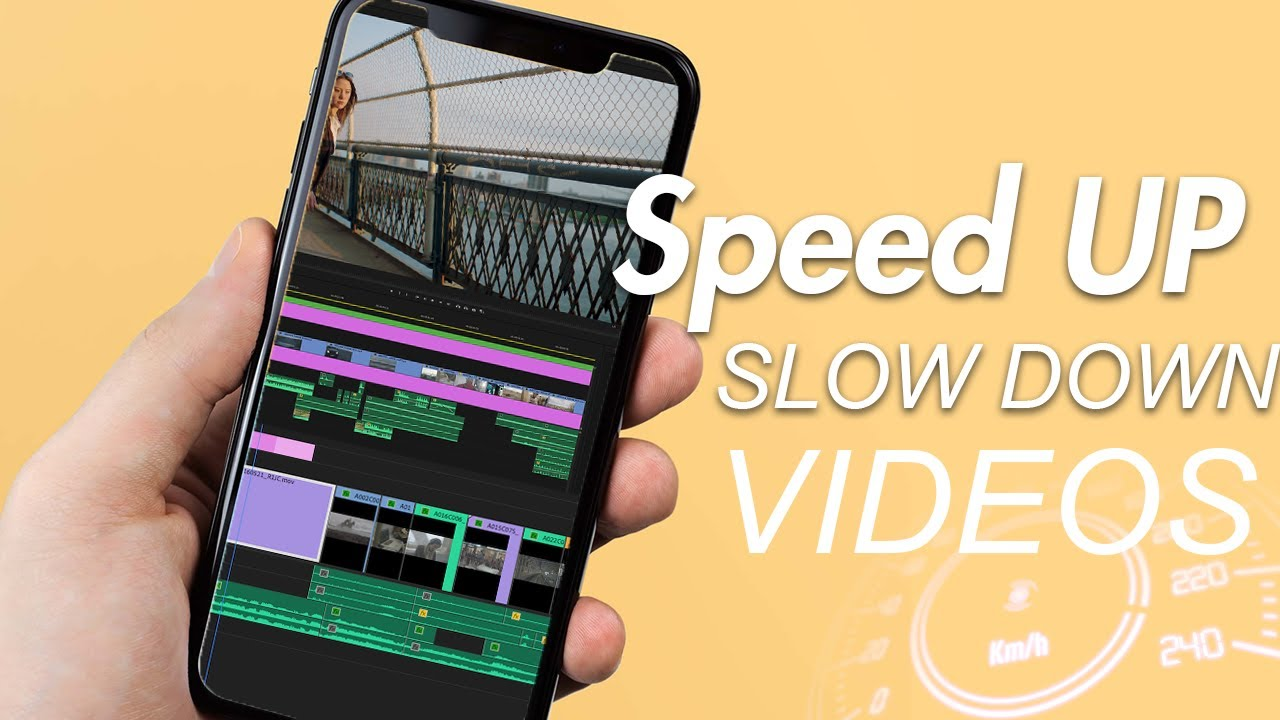 How To Speed Up Slow Down A Video On Iphone Easy Youtube