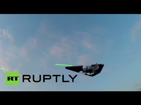 Star Wars fan builds Imperial Star Destroyer drone that shoots laser