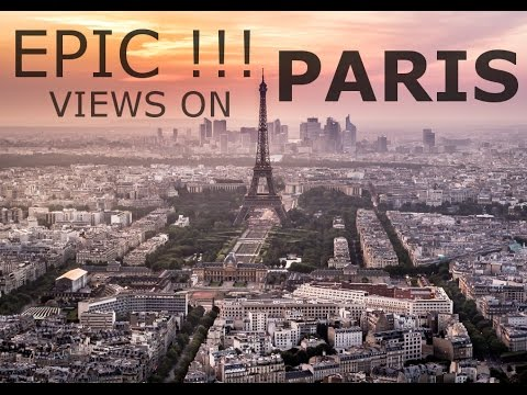 EPIC view upon Paris from the Tour Montparnasse