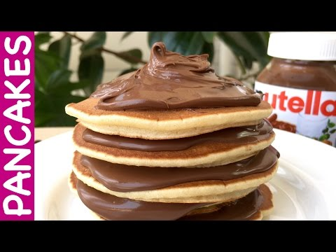 How to Make Delicious American Pancakes with Nutella (Step By Step Recipe)
