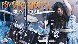 ¡PSYCHOSOCIAL EN BATERIA! (Slipknot Drum Cover - Eddie Warboy).