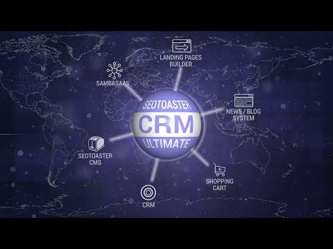 CRM Software SeoToaster Ultimate by SeoSamba