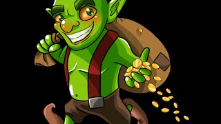 Clash Of Clans  200 Level 3 goblin Attack