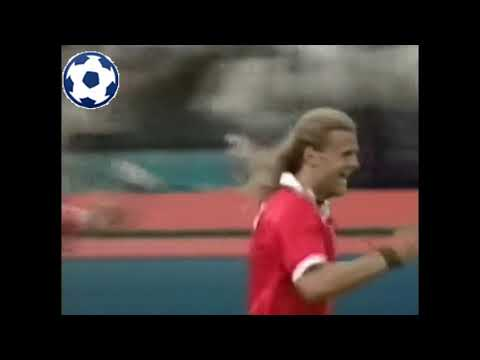 Alain Sutter - World Cup 1994 - Group A | Romania - Switzerland 1:4 | 16' (0:1)