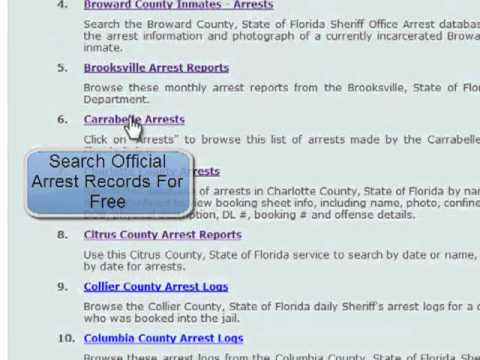 How To Find Out If Someone Has Been Arrested For Free ...