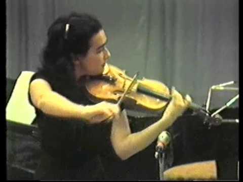 Debussy: Le plus que lente - Haffner Eszter - hegedű, Natasa Vinogradova - zongora